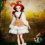 "Кукла DBS toys MM Girl ""Знаки зодиака"" Овен, 30 см"