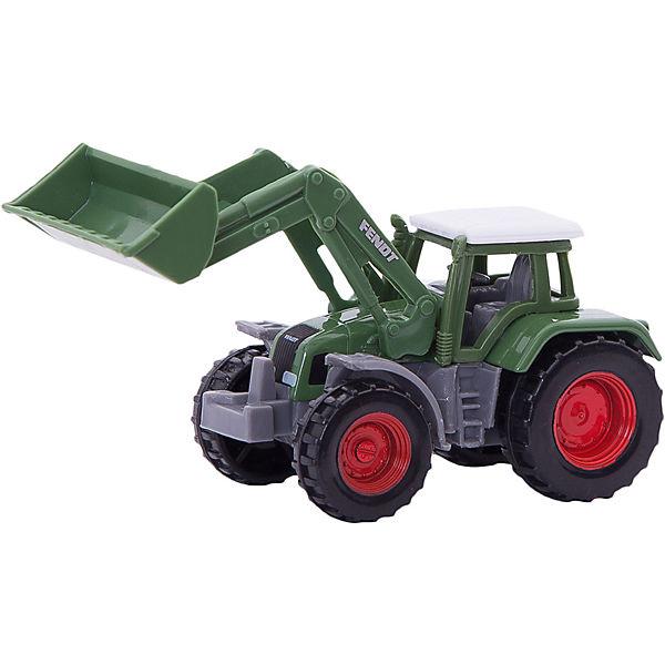 SIKU 1039 Fendt Traktor mit Frontlader, SIKU