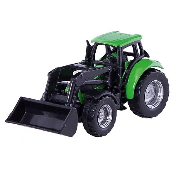 SIKU 1043 Deutz Traktor mit Frontlader, SIKU