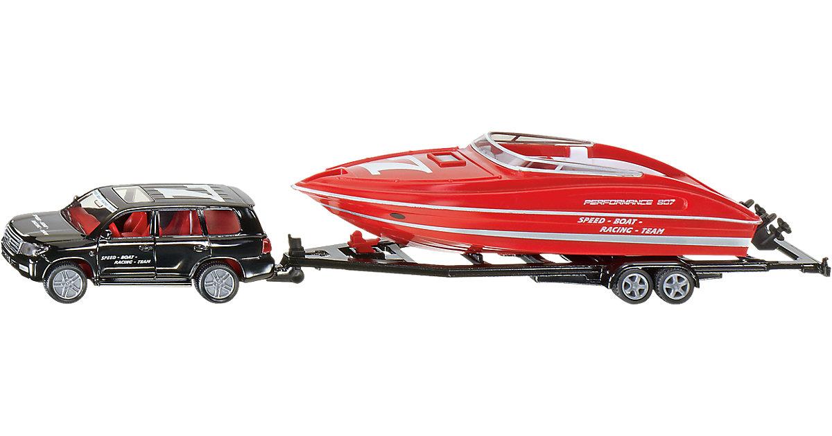 SIKU 2543 PKW mit Motorboot 1:55