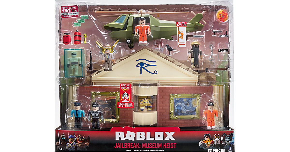 Image of ROBLOX - Deluxe Spielset: Museumsraub