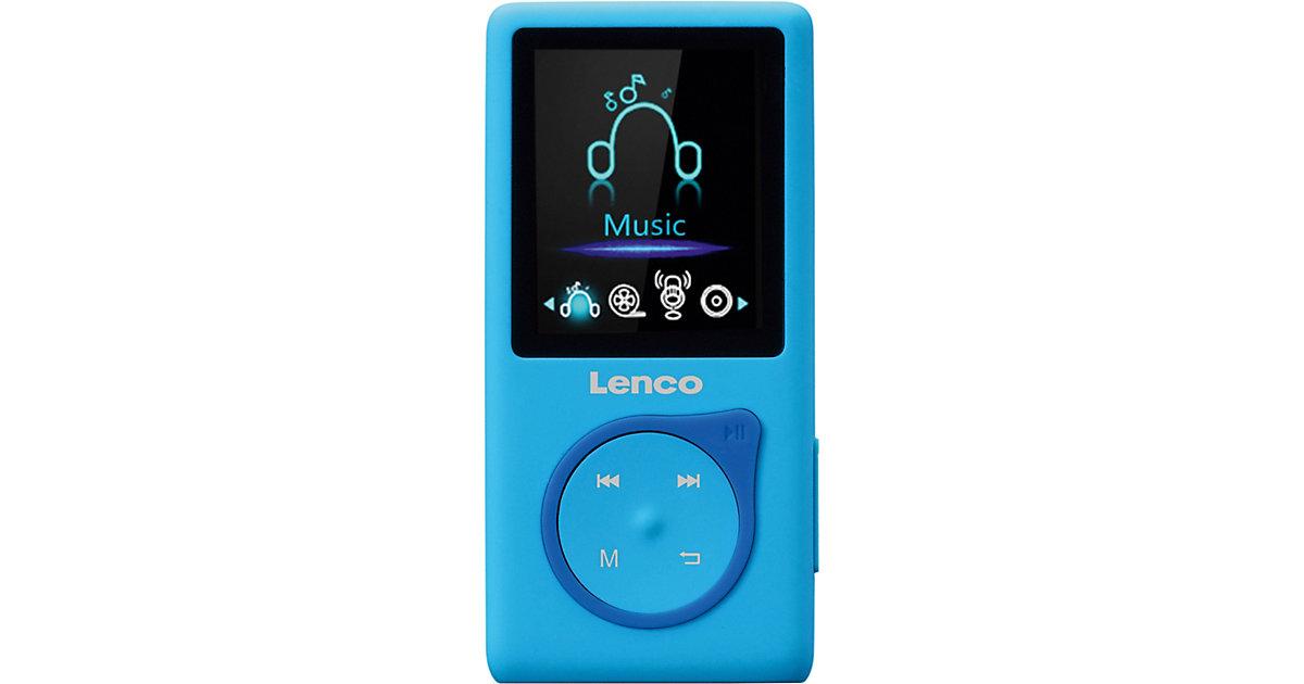 MP-108BU - MP3-/MP4-Player mit 8 GB micro SD Karte, Farbdisplay und integriertem Akku, blau