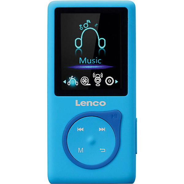 MP3/MP4 Player mit 8 GigaByte micro SD Karte MP-108BU