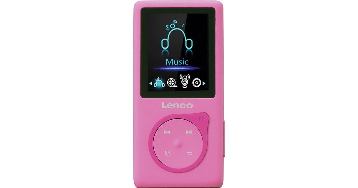 MP-108PK - MP3-/MP4-Player mit 8 GB micro SD Karte, Farbdisplay und integriertem Akku, pink