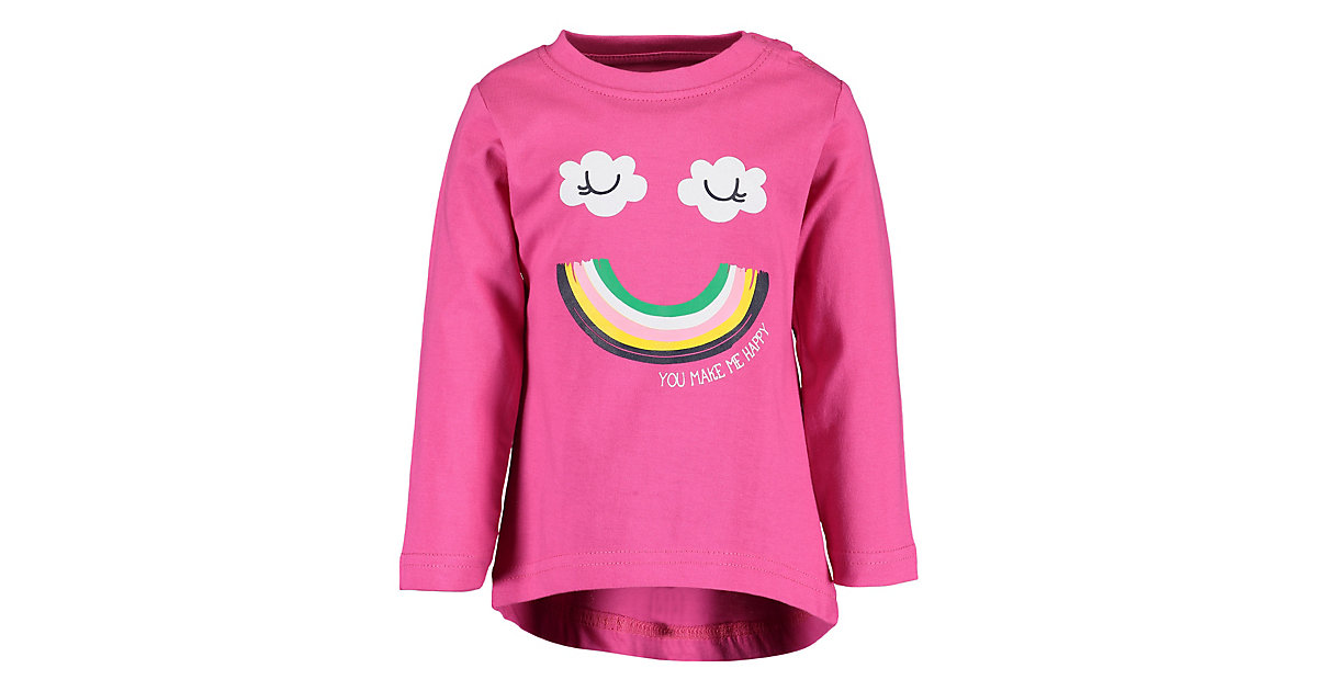 Baby Langarmshirt , Organic Cotton pink Gr. 68 Mädchen Baby