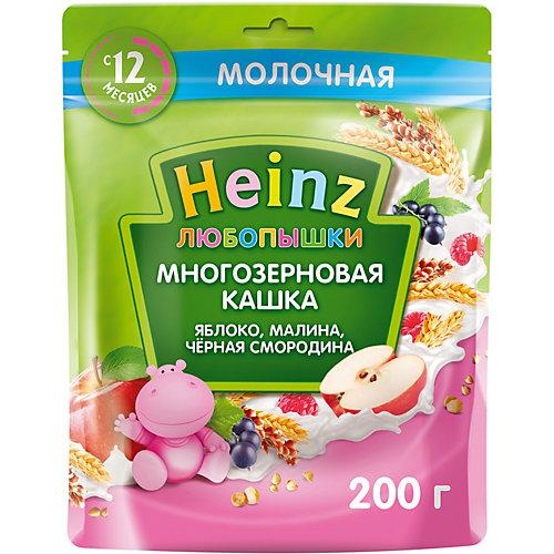 Каша Heinz молочная многозерновая яблоко, малина смородина, с 12 мес от Heinz
