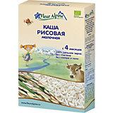 Каша Fleur Alpine молочная рисовая, с 4 мес