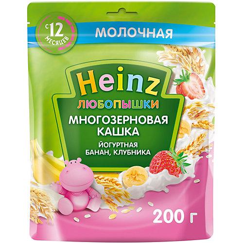 Каша Heinz йогуртная многозерновая банан клубника, с 12 мес от Heinz