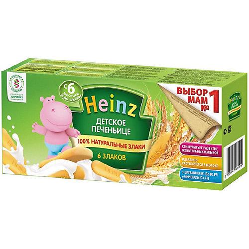 Детское печенье Heinz 6 злаков, с 6 мес от Heinz