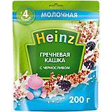 Каша Heinz молочная гречневая чернослив и Омега 3, с 4 мес