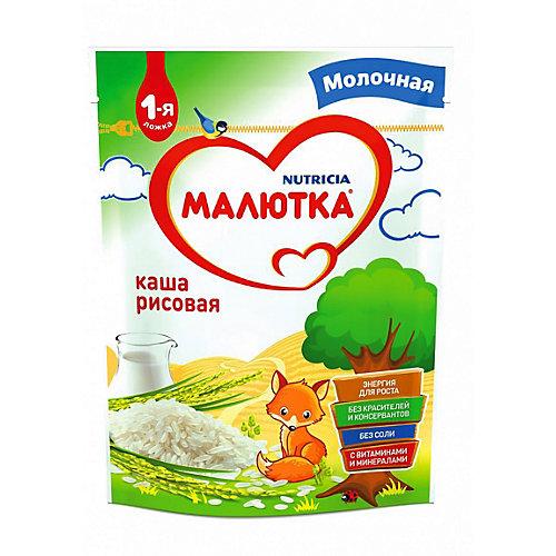 Каша Малютка молочная рисовая, с 4 мес от Малютка