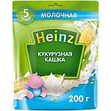 Каша Heinz молочная кукурузная Омега 3, с 5 мес