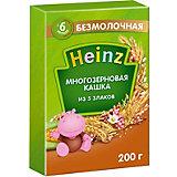 Каша Heinz многозерновая 5 злаков, с 6 мес