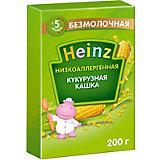 Каша Heinz низкоаллергенная кукурузная, с 5 мес
