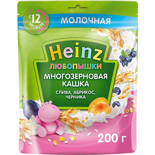 Каша Heinz молочная многозерновая слива абрикос черника, с 12 мес от Heinz