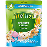 Каша Heinz молочная рисовая груша и Омега 3, с 4 мес