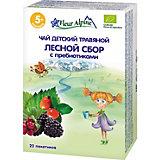Детский чай Fleur Alpine травяной Лесной сбор с пребиотиками, с 5 мес