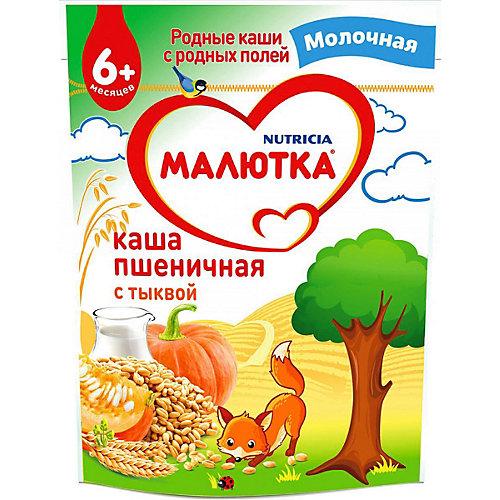 Каша Малютка молочная пшеничная с тыквой, с 6 мес от Малютка