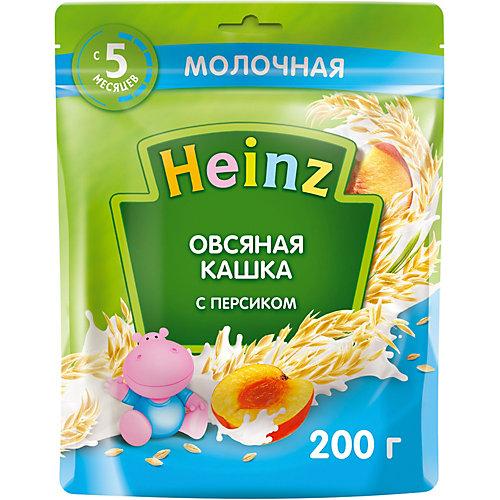 Каша Heinz молочная овсяная персик и Омега 3, с 5 мес от Heinz