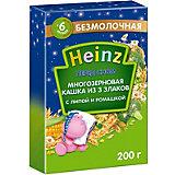 Каша Heinz многозерновая 3 злака с липой и ромашкой, с 6 мес