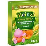 Каша Heinz пшенично-кукурузная с тыквой, с 5 мес