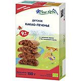 Детское печенье Fleur Alpine какао, с 9 мес