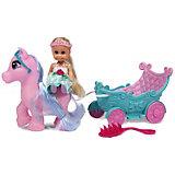 """Игровой набор с куклой Sparkle Girlz  """"Принцесса в карете"""", 11,5 см"""