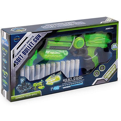 """Игровой набор Feng Jia """"Зелёное оружие"""" Бластер Z-22 от Mioshi"""