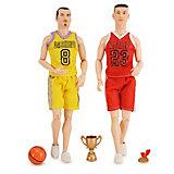 """Набор кукол Xinjianxin """"Чемпионы по баскетболу"""" 2 шт, 28 см"""