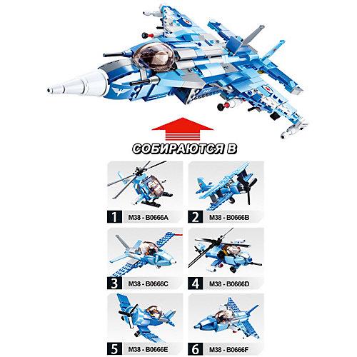 "Конструктор Sluban ""Армия"" Биплан, 120 деталей от Sluban"
