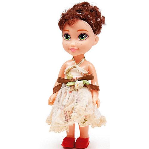 """Кукла Qian Jia Toys """"Девочка в нарядном платье"""" Брюнетка, 16 см"""