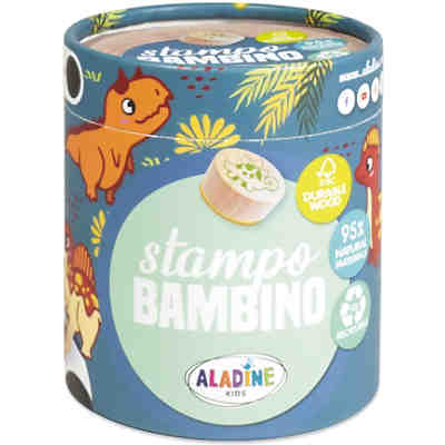 Stampo Bambino Dinosaurier Stempel-Set