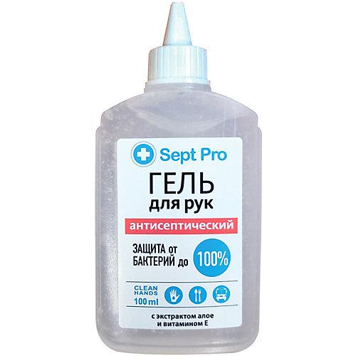 Гель для рук Sept Pro с антибактериальным эффектом, 100 мл