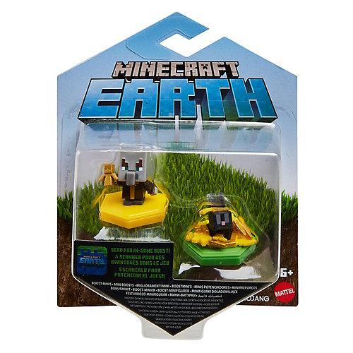 Набор фигурок Minecraft Earth Эвокер и кролик, c NFC - чипом от Mattel