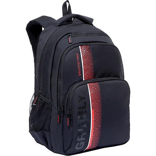 Рюкзак Grizzly - черный/розовый от Grizzly