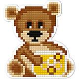 "Алмазная мозаика Фрея ""Магнит"" Медвежонок, 8х7,5 см"