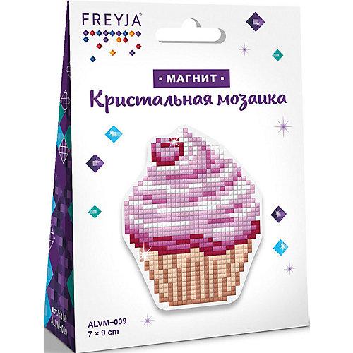 "Алмазная мозаика Фрея ""Магнит"" Пирожное, 7х9 см от Фрея"