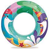 Круг для плавания Bestway Морские приключения, дельфины