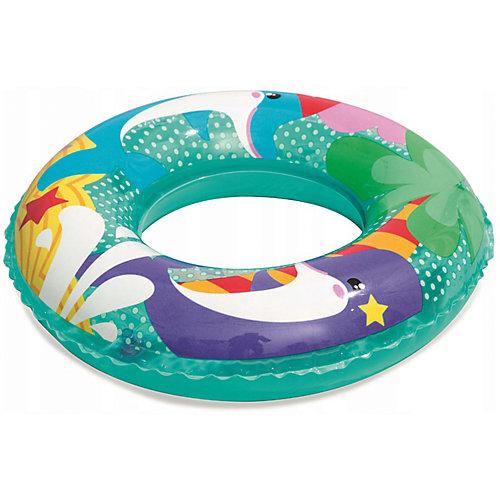 Круг для плавания Bestway Морские приключения, дельфины от Bestway