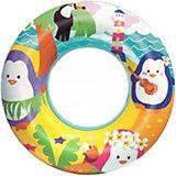 Круг для плавания Bestway Морские приключения, пингвины