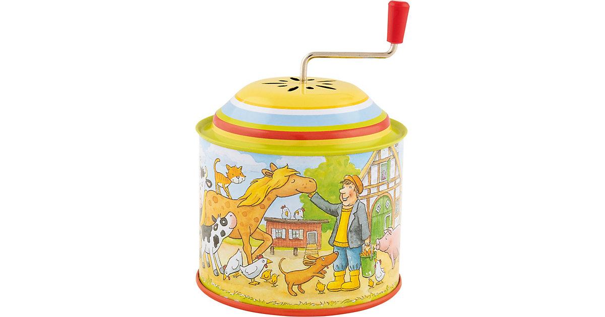 Musikspieldose, Bauernhof, Melodie: Old Mc Donald had a farm
