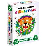 Настольная игра-викторина Дрофа-Медиа О животных