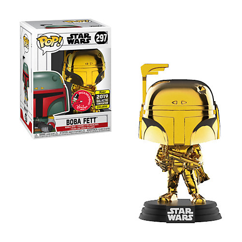 Фигурка Funko POP! Bobble Star Wars Boba Fett Hamleys Exclusive GC 37641 от Funko