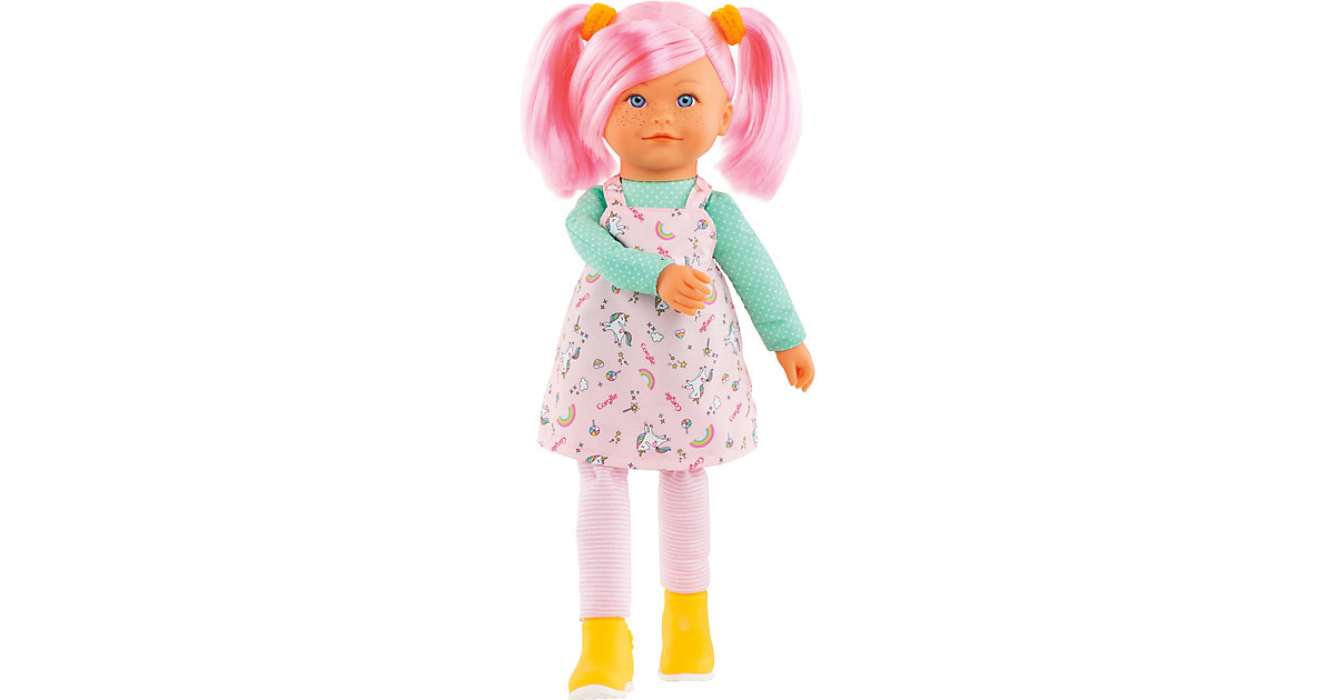 Rainbow Doll Praline mit zartem Vanilleduft mit Schlenkerbeinen 40cm