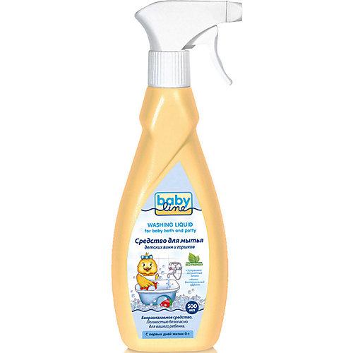 Средство для мытья ванн и горшков Babyline 480 мл