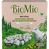 Таблетки для посудомоечной машины BioMio с маслом эвкалипта, 30 шт