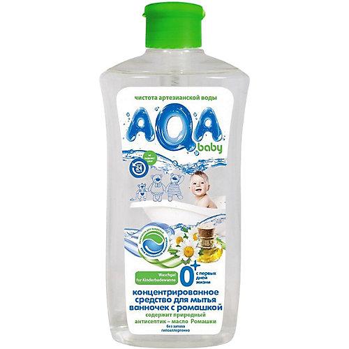 Cредство для мытья ванночек AQA baby с ромашкой, 500 мл