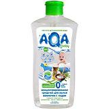 Cредство для мытья ванночек AQA baby с содой, 500 мл