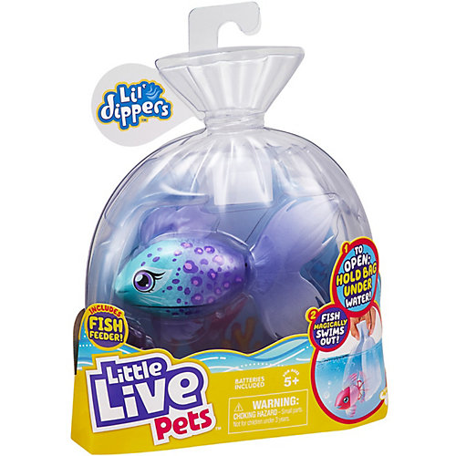 Волшебная рыбка Little live pets Lil' Dippers от Moose