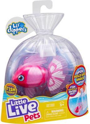 Little Live Pets Lil Dipper interaktiver Fisch - Bellariva pink